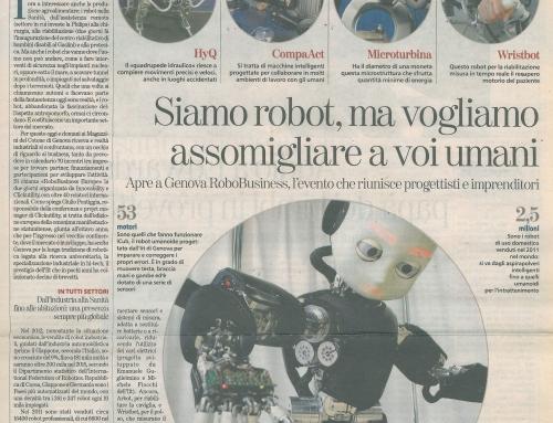 iCub: Aushängeschild der italienischen Forschung